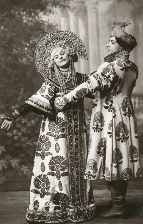 Anna Pavlova and Michael Mordkin performing the Russian Dance (1909). Foulsham & Banfield. Published by Rotary Photographic Co Ltd. National Portrait Gallery. Mordkin joined Diaghilev for the 1909 Paris season as a leading dancer, ranking above Nijinsky. On the opening night of Ballets Russes in Paris, Mordkin danced the leading role in Michael Fokine's Le Pavillon d'Armide. After the first season, he remained in Paris to dance with Anna Pavlova going on to form his own company, All Star…