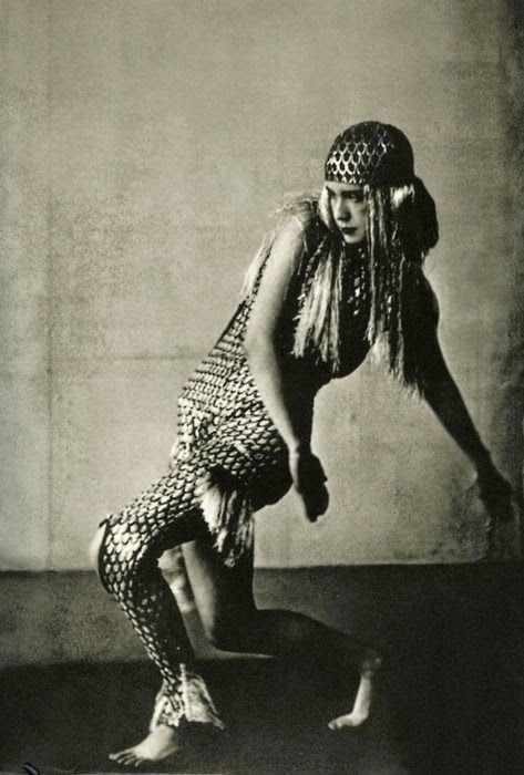 Lucia Joyce dancing at Bullier Ball - Paris 1929