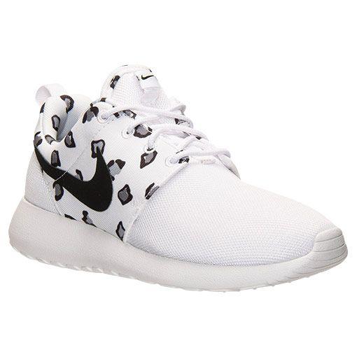 womens nike roshe run print casual shoes $79.99