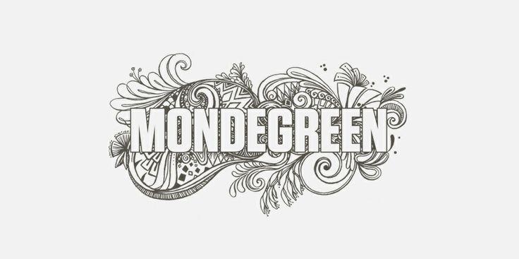 Mondegreen - homeware and fashion branding identity