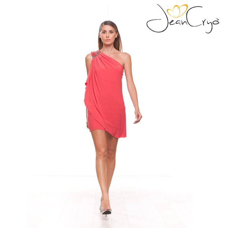 #pink #dress #cocktaildress #party #minidress #monospalla #abitolungo #elegance #fashion #springsummer2015 #specialoccasion #woman #look #outfit #style #moda #partydress #bridesmaid