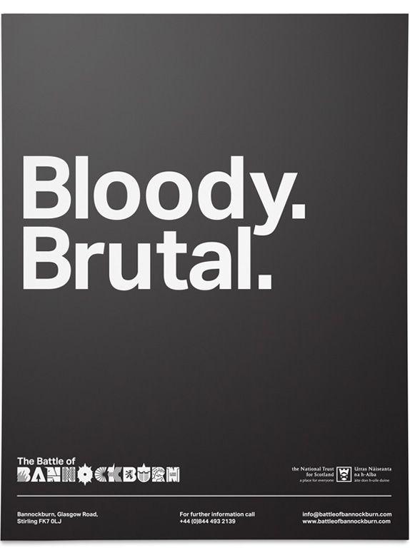 The Beautiful Meme – Battle of Bannockburn Logo and Identity