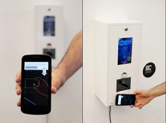 NFC, Mobile, Automat
