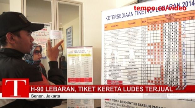 Nusa Indah | Tiket Pesawat Murah: PT KAI Pertimbangkan Jual Tiket Kereta Tambahan