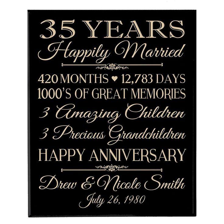 Best 25 35th wedding anniversary ideas on pinterest for 35th wedding anniversary gift ideas