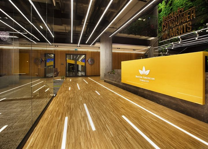 British American Tobacco Office by Bakırküre Architects, Istanbul – Turkey » Retail Design Blog
