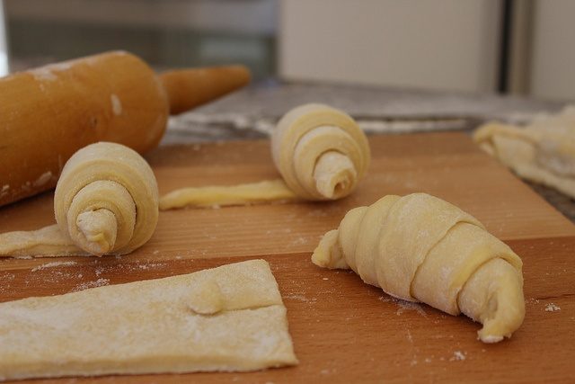 Croissants shaped by Olivia@Smash, via Flickr