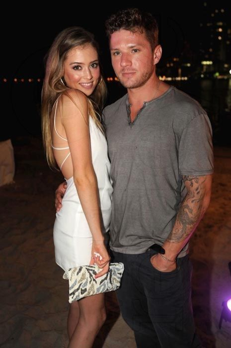 Ryan Phillippe and Paulina Slagter...