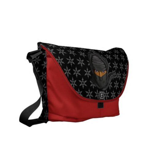 Ninja Messenger Bags