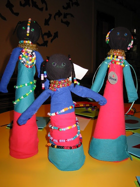 Ndebele Dolls Easy To Make With A Few Crafting Materials