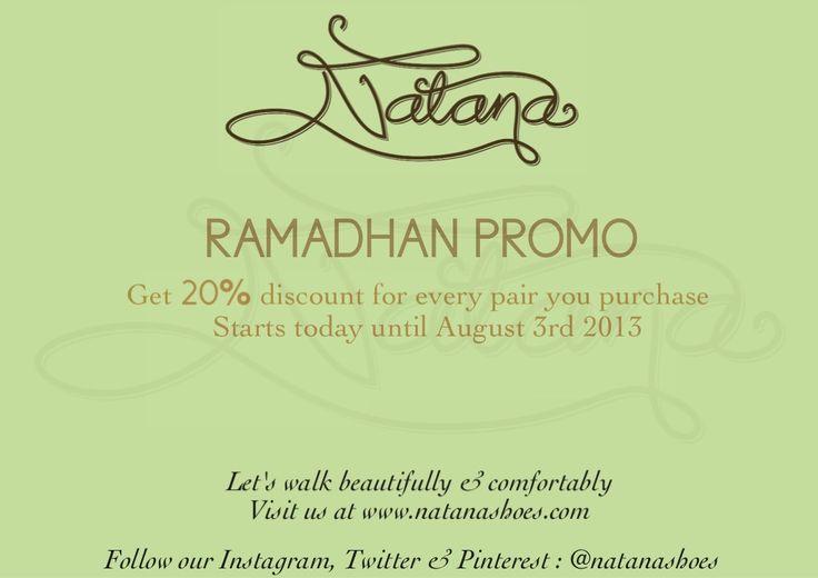 RAMADHAN PROMO for everyone :)
