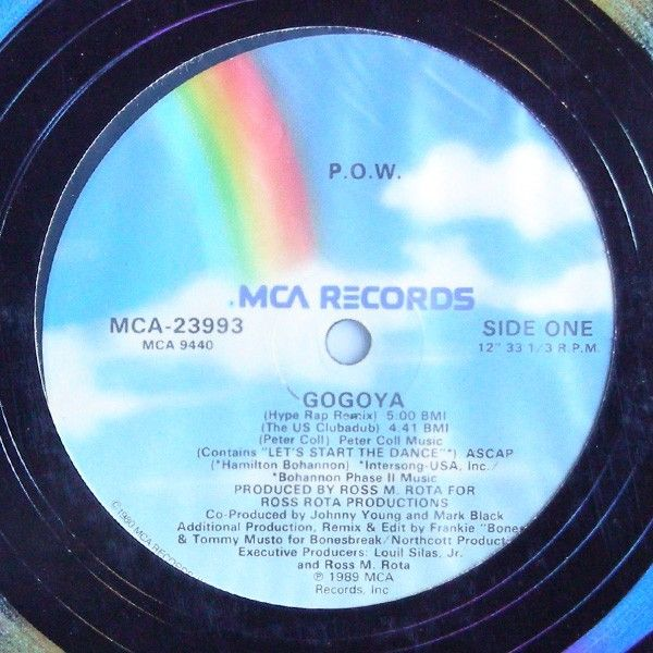 Edizione 1989. No ristampa.<br />Ep contenente 4 Tracce.<br />Lato A: Gogoya (Hype Rap Remix) - (The US Clubadub)<br />Lato B: Gogoya (The Hip House Remix) - (The UK Clubadub)<br />Copertina generica e Vinile perfetti.<br />Stampato in USA.<br /><br />Electronic hip house [6,90 €]