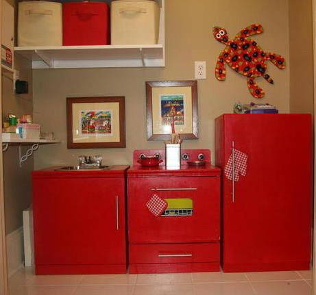 85 best images about DIY Play Kitchens on Pinterest