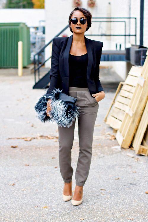 30 Ways to Make Gray Your Closet's NewBlack   StyleCaster