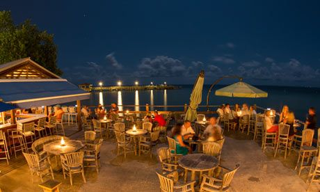 Louie's Backyard - Gourmet beach bar right on the water - http://www.louiesbackyard.com/