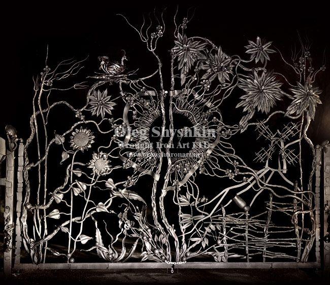 Wrought Iron Art, LTD Is Metal Artist, Handmade, Artistic, Ornamental,  Architectural