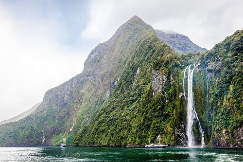 Milford Sound Southland New Zealand