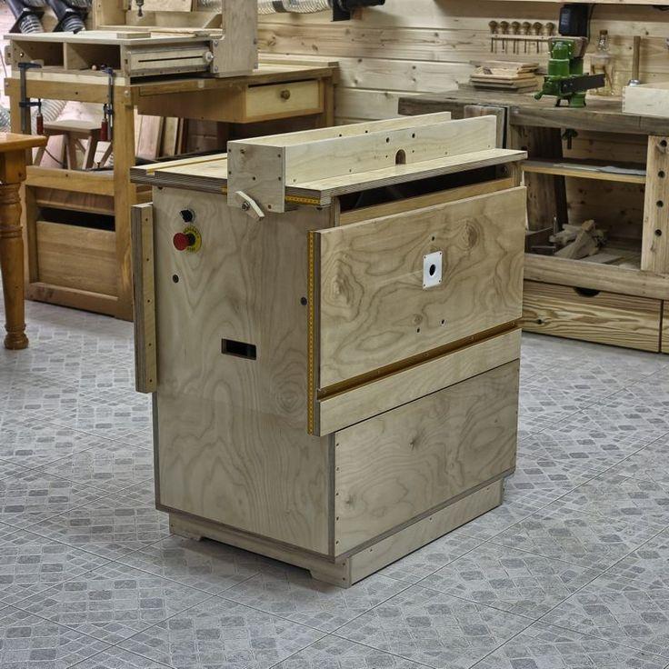самодельный стол для фрезера