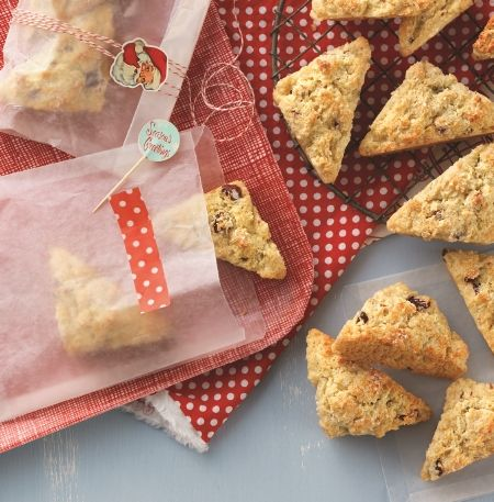 Cranberry Orange Scone Mix - In minutes, you can bring the tangy taste of cranberries and a hint of orange hot from your oven.