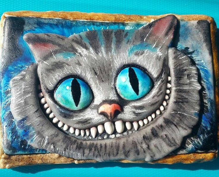 Имбирный пряник Чеширский кот
