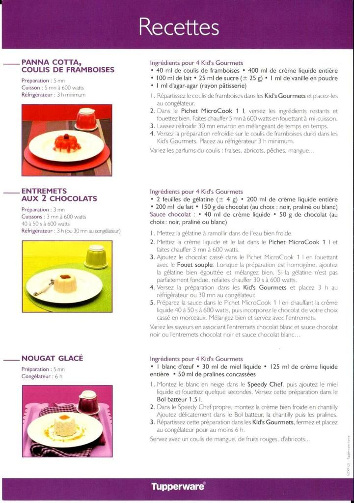 Set Kid's Gourmets