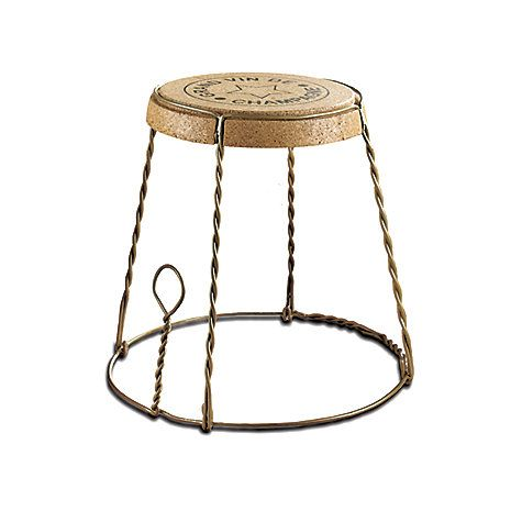 Wine Enthusiast Wine Enthusiast Companies Champagne Cork End Table