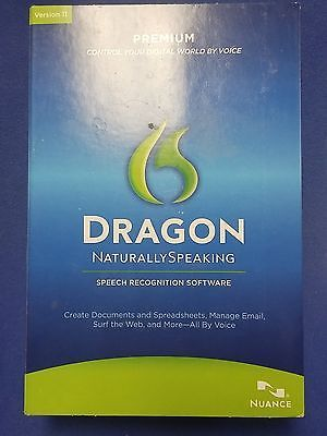 Nuance Dragon Naturally Speaking Premium Version 11.5 Window 7 Computers/Tablets & Networking:Software:Office & Business www.internetauctionservicesllc.com $49.99