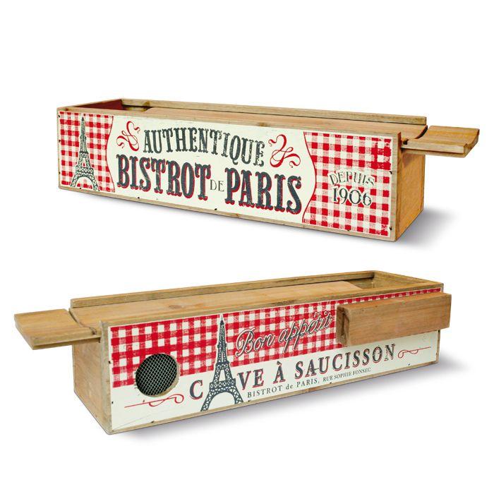 """коробка для ножей """"Бистро Парижа"""""""