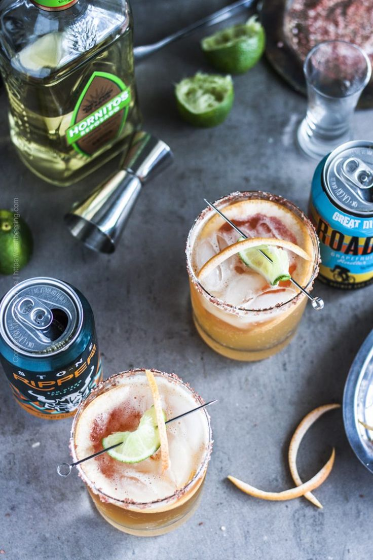 Paloma with Grapefruit Beer (Step by Step Pictures