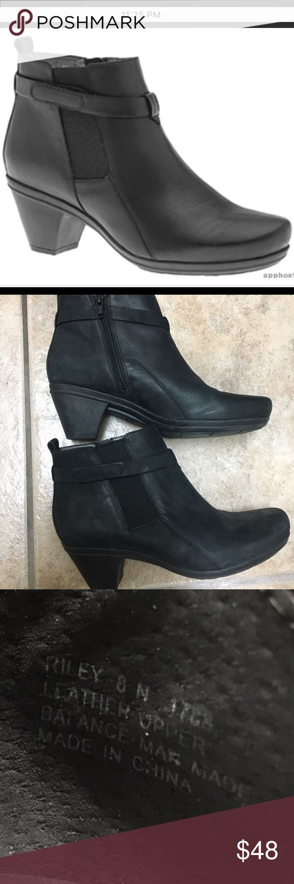 Abeo Bio Riley 8N Black Boots New to yoU! Riley Black Women's BioMechanical Shoes. Abeo Shoes Heeled Boots