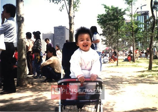 Baby Lee Min Ho :) Chubby and Cute Boy !