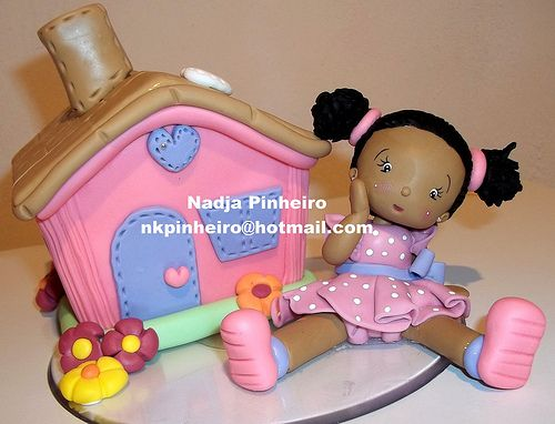 casinha de bonecaIdeas, Dolls, Crate, Porcelain Cold, Crafts