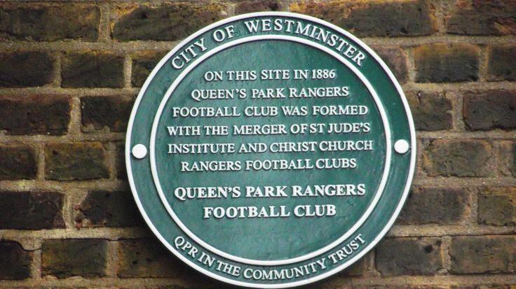Queens Park Rangers Formed Here