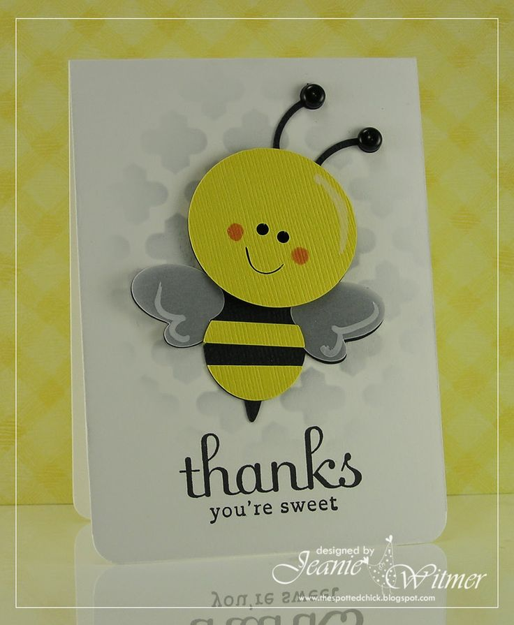 wedding shower thank you note for gift card%0A The Spotted Chick  The Spotted Chick  Handmade Card  Thank You Cards  Baby