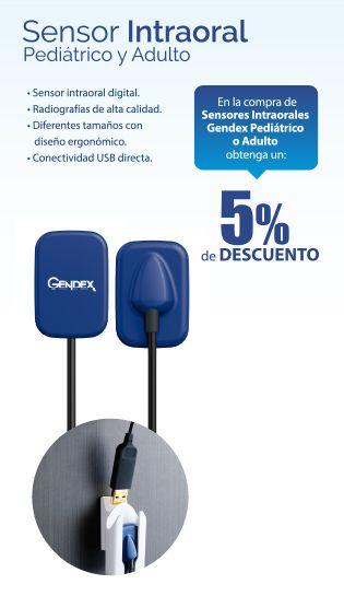 Obtenga un 5% de #descuento en la compra de un Sensor Intraoral Pediátrico o Adulto