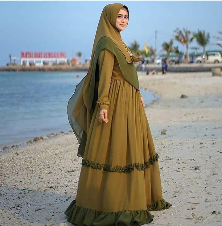 Baju Murah Terbaru New Layana Syari Dress Wolfice Baju Wanita Gamis Baju Terusan Panjang Baju Kerja Gaun Pesta Murah Remaja Baju Muslim Terbaru 2018 Baju Terusan Panjang Baju Muslim Busana Islami