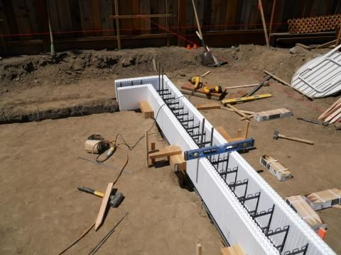17 best images about insulated concrete forms on pinterest for Foam basement forms