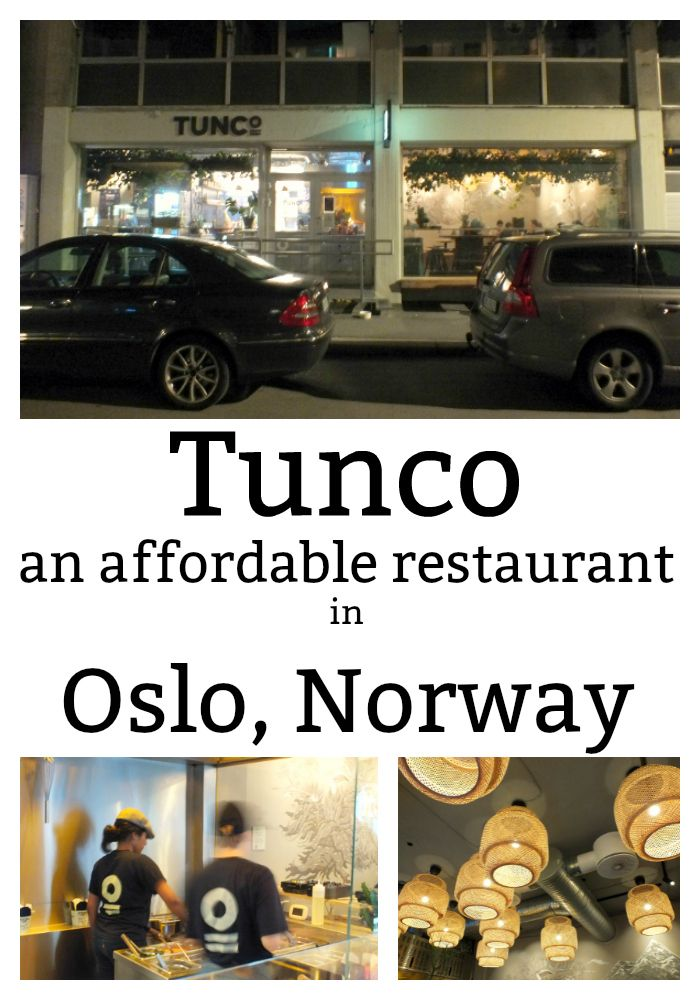 Not all restaurants in Norway will break the bank. Tunco, in Oslo, is a relatively inexpensive eatery serving locally sourced Asian wok food. It has a wide range of vegan and meat option, as well as children's portions for family diners.