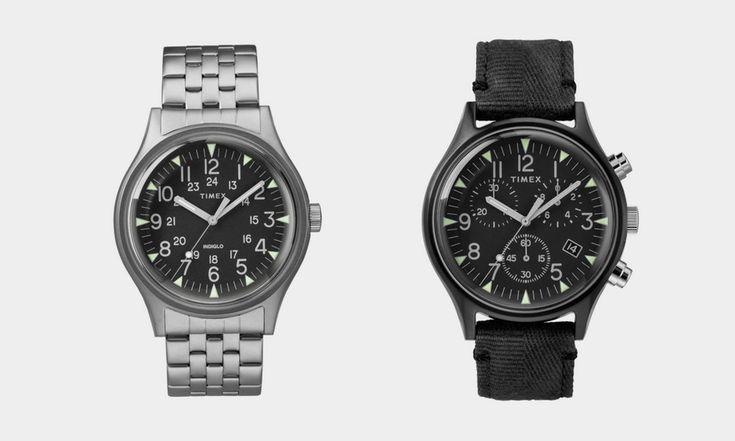 Коллекция стальных часов от Timex и Todd Snyder MK1 Частое сотрудничество Timex и Todd Snyder вернулись с новой коллекцией обновленных старинных часов, которые отлично смотрятся на любом запястье. Коллекция часов Timex + Todd Snyder MK1 Steel насчитывает шесть разных часов, основанных на «ч