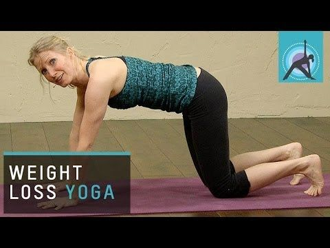 15 min Weight loss Yoga for Beginners - YouTube