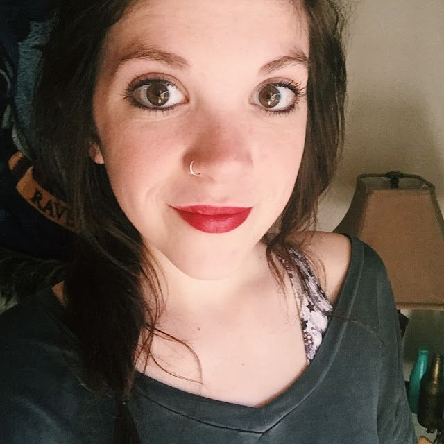 collar to collar Tanna Wasilchak: NYX Lipstick Review