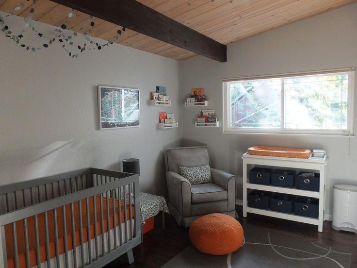 54 Best Grey Orange And Blue Nursery Images On Pinterest