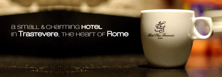 Hotel San Francesco, Trastevere Roma Italy www.hotelsanfrancesco.net