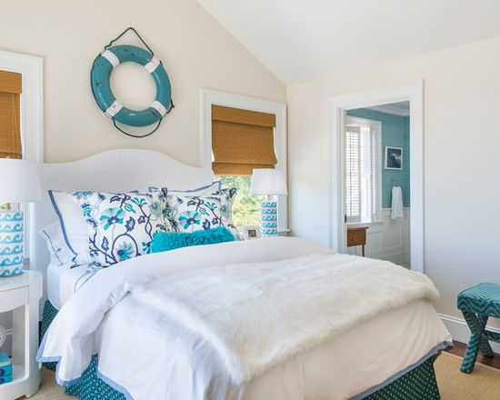 Turquoise Bedroom Home Design Ideas, Pictures, Remodel and Decor