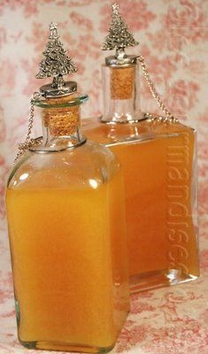 LIQUEUR D'ORANGE AU SIROP D'ÉRABLE