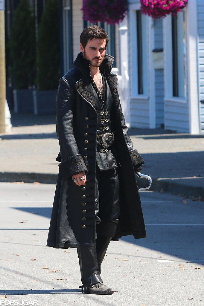 Movies, TV & Music   Captain Hook and Emma Get Close in Once Upon a Time Season 4   POPSUGAR Entertainment