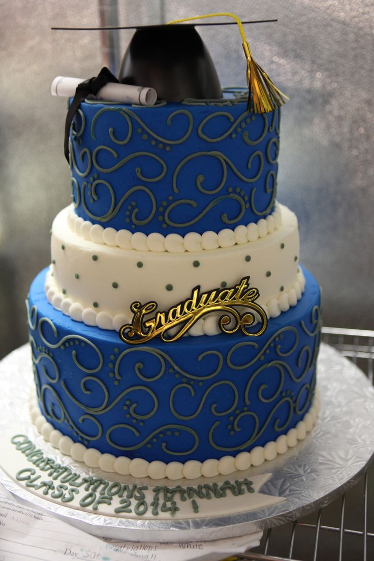 The Blue Graduate #74Graduation by Michael Angelo's Bakery | Michael Angelo's Bakery