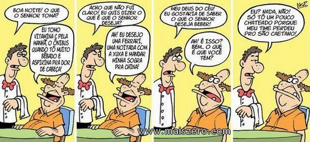 Rir Demais: O Garçon e o cliente...