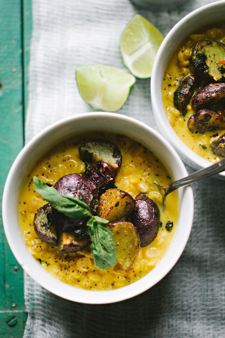 ... on Pinterest | Soup with lentils, Curried lentil soup and Coconut milk
