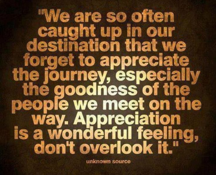 Appreciation Is A Wonderful Feeling Life Quotes Quotes